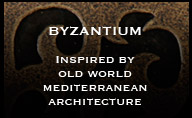 Pewter Metal Tiles - Byzantium Pewter Accent Tiles